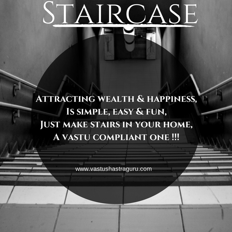 Staircase Vastu Shastra Tips