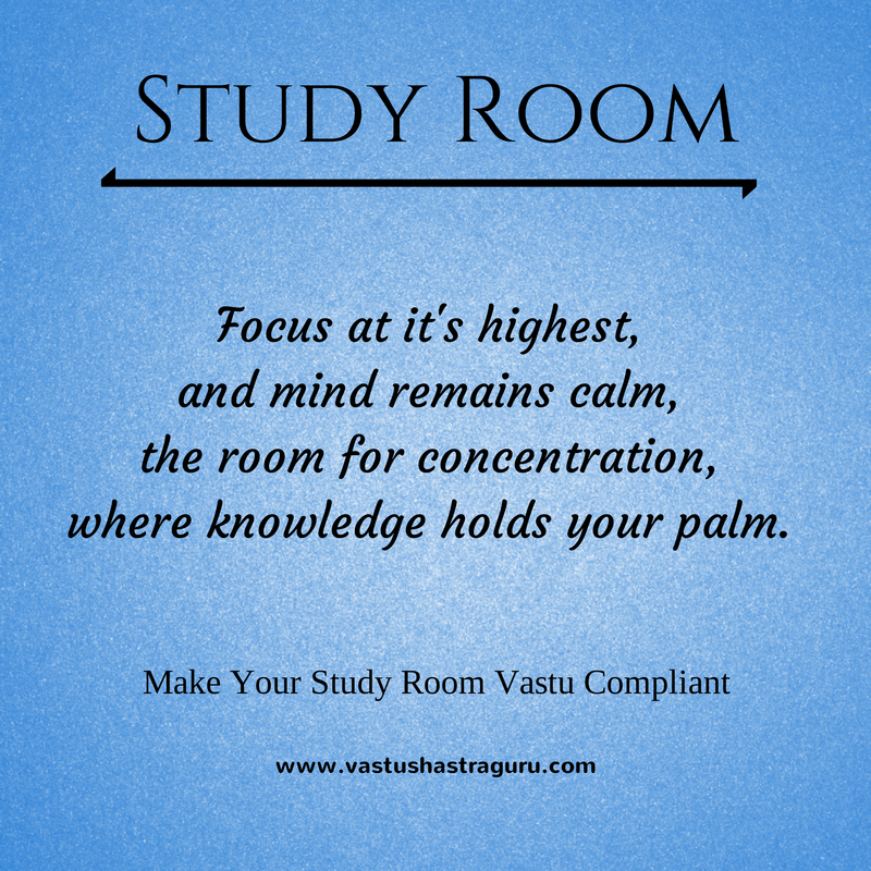 Bedroom Colors As Per Vastu 26 tips for vastu compliant study room | vastushastraguru
